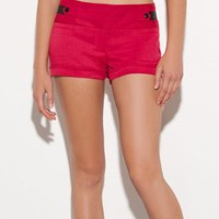 Amazon.com: G by GUESS Tiffany Dressy Shorts: Clothing