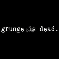 Grunge Is Dead (Kurt Cobain) by ixrid by Redbubble - Teenormous.com