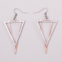 Geometry Earring in Mixed Metal by Cheap Monday