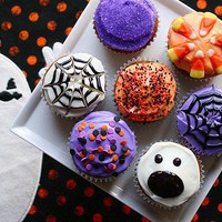 this is halloween / Spiced PumpkinCupcakes » Annie's Eats