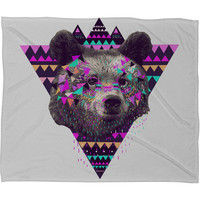 DENY Designs Home Accessories | Kris Tate Piniata Bear Fleece Throw Blanket