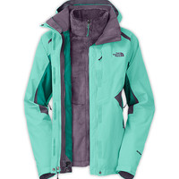 The North Face Women's Jackets & Vests INSULATED 3-IN-1 JACKETS WOMEN'S BOUNDARY TRICLIMATE JACKET