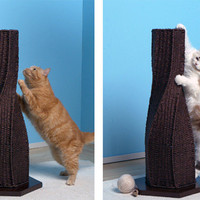 Calypso Cat Scratcher- The Modern Cat Scratching Post