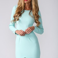 HelloMolly | Turquoise Dress - Party Dresses - Dresses