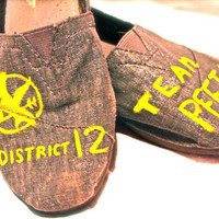 Custom Hunger Games Toms, Vans, or knock offs