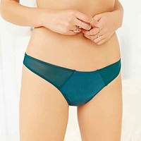 Silence + Noise Riley Mesh Thong-