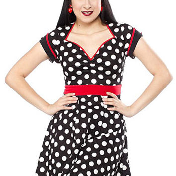 Darling in Dots Dolly Dress