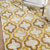 Rugs USA Savanna Trellis VE13 Gold Rug