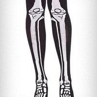 X-Ray Bones Knee Socks