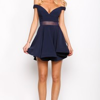 HelloMolly   Not The Only One Dress Navy