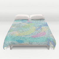 Cool Winds Duvet Cover by Catherine Holcombe