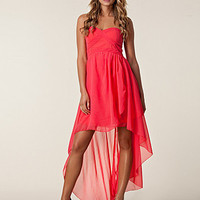 Drop Back Chiffon Dress, Ax Paris