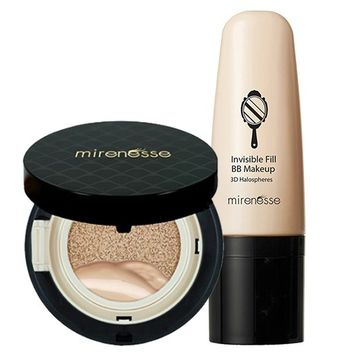 *SP10 COLLAGEN FOUNDATION - AGE BACKWARDS INVISIBLE BB COVER- MATTE - Mirenesse