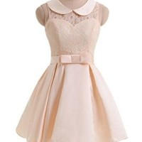 Gorgeous Bridal Junior's Mini Prom Dress for 2014 Christmas Party (XL)