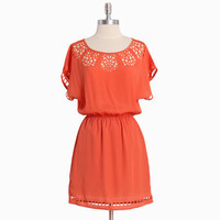 orange creamsicle cutout dress - $42.99 : ShopRuche.com, Vintage Inspired Clothing, Affordable Clothes, Eco friendly Fashion
