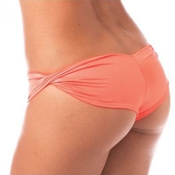 Neon Twist Booty Shorts | Scrunch Back Rave Bottoms | Rave Outfits