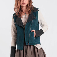 Cool Girl Suede Jacket By Chaser
