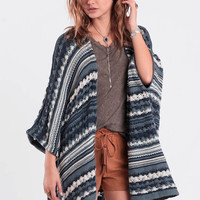 Nordic Oversized Cardigan By Chaser