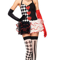 Sweetheart Harlequin Costume