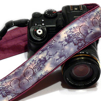 DreamCatcher Camera Strap,  Purple Camera Strap, Dream catcher, Nikon, Canon Camera Strap, Women Accessories