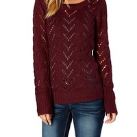 Sparkle Pointelle Sweater