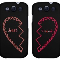 BFF Phone Covers - Best Friends Matching Hearts Phone Cases for iphone 4, iphone 5, iphone 5C, iphone 6, iphone 6 plus, Galaxy S3, Galaxy S4, Galaxy S5