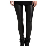 ToBeInStyle Metallic Sexy Liquid Leggings Faux Leather Wet Look Treggins Clubwear Punk Pants