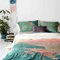 Tim Green For DENY Mooncrooner Duvet Cover- Multi