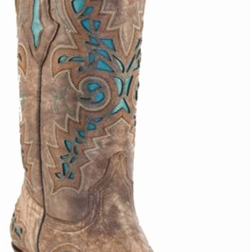 Lucchese Turquoise Inlay M3571   Boot Country Online