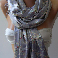 Scarf Lilac - Feminine - Elegance Shawl / Scarf