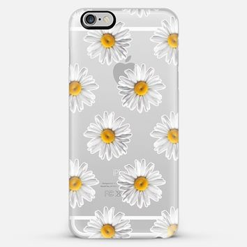 Daisies on Clear iPhone 6 case by Tangerine- Tane | Casetify