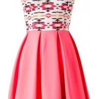 The Strapless Skater Dress