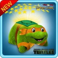 DreamLites :: Ninja Turtle Dreamlite - Michealangelo - My Pillow Pets® | The Official Home of Pillow Pets®