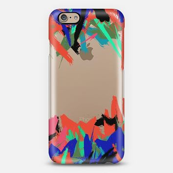 Pop Abstract Paint Explosion iPhone 6 case by Organic Saturation | Casetify