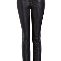 Exclusive Skinny Leather Trousers by Sara Berman