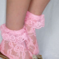Socks By Sock Dreams  » Socks » Lace Anklet with Ruffle