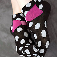 Socks By Sock Dreams  » Socks » Pretty Bow Stretch Socks