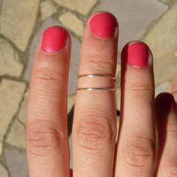 SILVER RING Wear It 6 Different Way.. on Luulla
