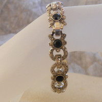 Black And Silver Vintage Bracelet on Luulla