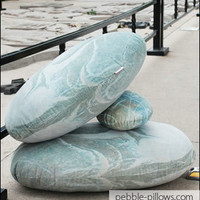 River Rocks Living Stone Pillows
