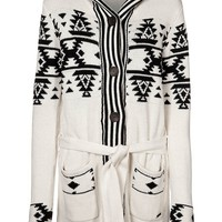 Billabong SHADY - Cardigan - white - Zalando.co.uk