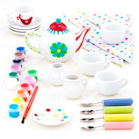 Paint  Your Own Tea Set - World Market