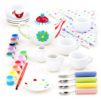 Paint Your Own Tea Set | World Market