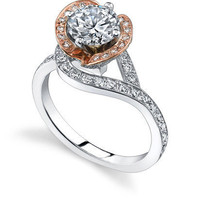 Diamond Engagement Ring Round Cut
