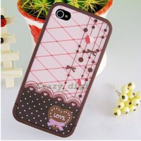 buy cheap Fashion cute lovely Hard Cover Skin case for iPhone 4 4S wholesale on China Gadget Land