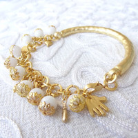 White Gold Bracelet-Wedding Bracelet