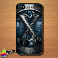 Movie X Men First Class Custom iPhone 4 or 4S Case Cover