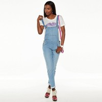 Juicy Couture Knit Jean Overalls - Women's