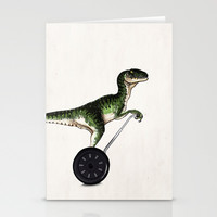 Eureka! Stationery Cards by John Medbury (LAZY J Studios) | Society6