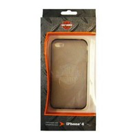 Fuse Harley Davidson TPU Jelly Case for iPhone 4 - AT&T and Verizon - 1 Pack - Retail Packaging - Smoke: Cell Phones & Accessories